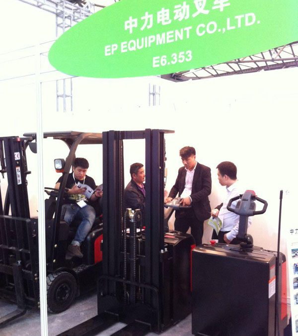 EP becomes very popular in Fresh logistics Asia 2015