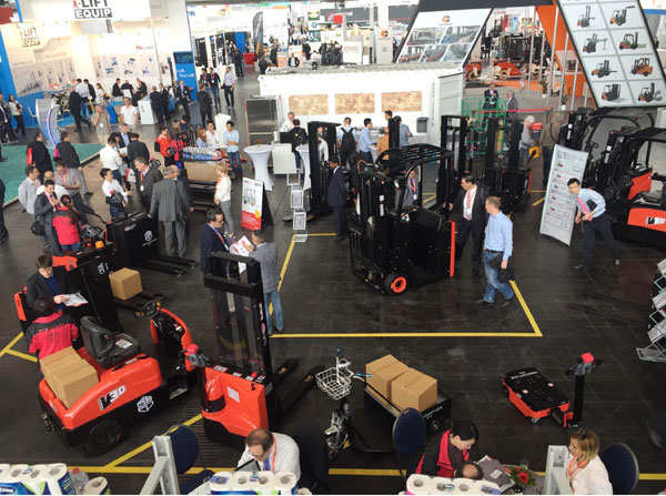 EP participation at CEMAT Germany 2016