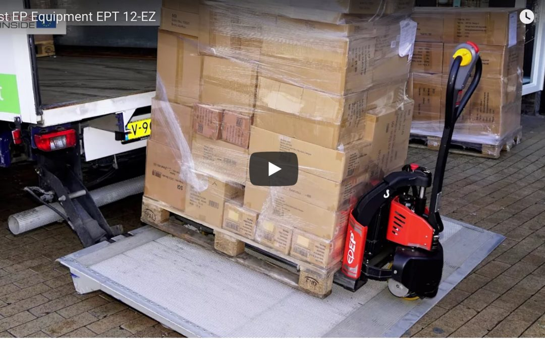 EPT 12EZ electric pallet truck independant test report