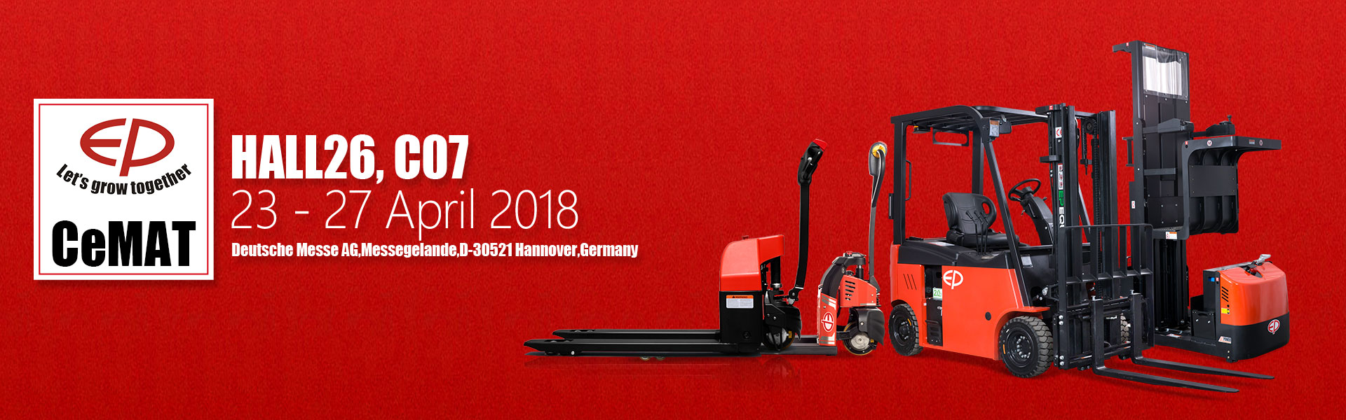EP Equipment at cemat