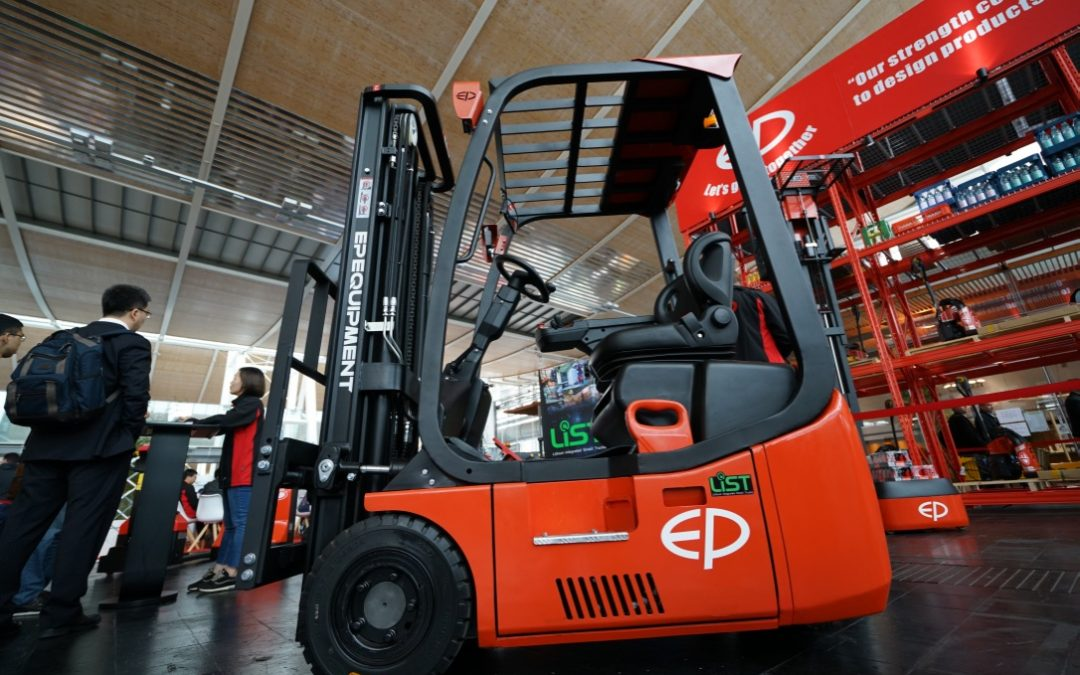 CeMAT 2018 EP Equipment Forklift