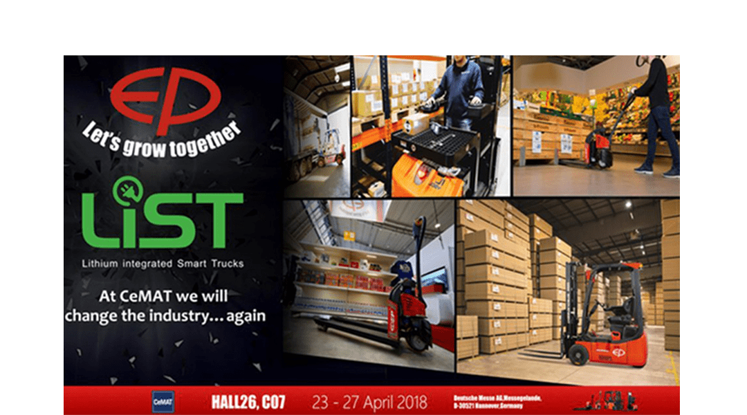 At CeMAT 2018 we will change the industry … again