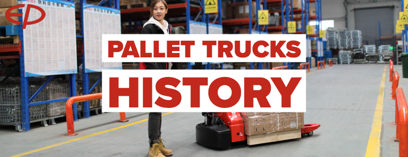 The history and future of pallet trucks