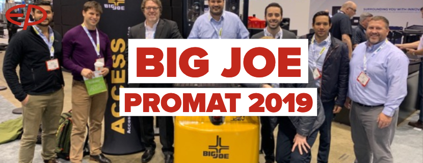 PROMAT attendees access the latest offerings from Big Joe Forklifts