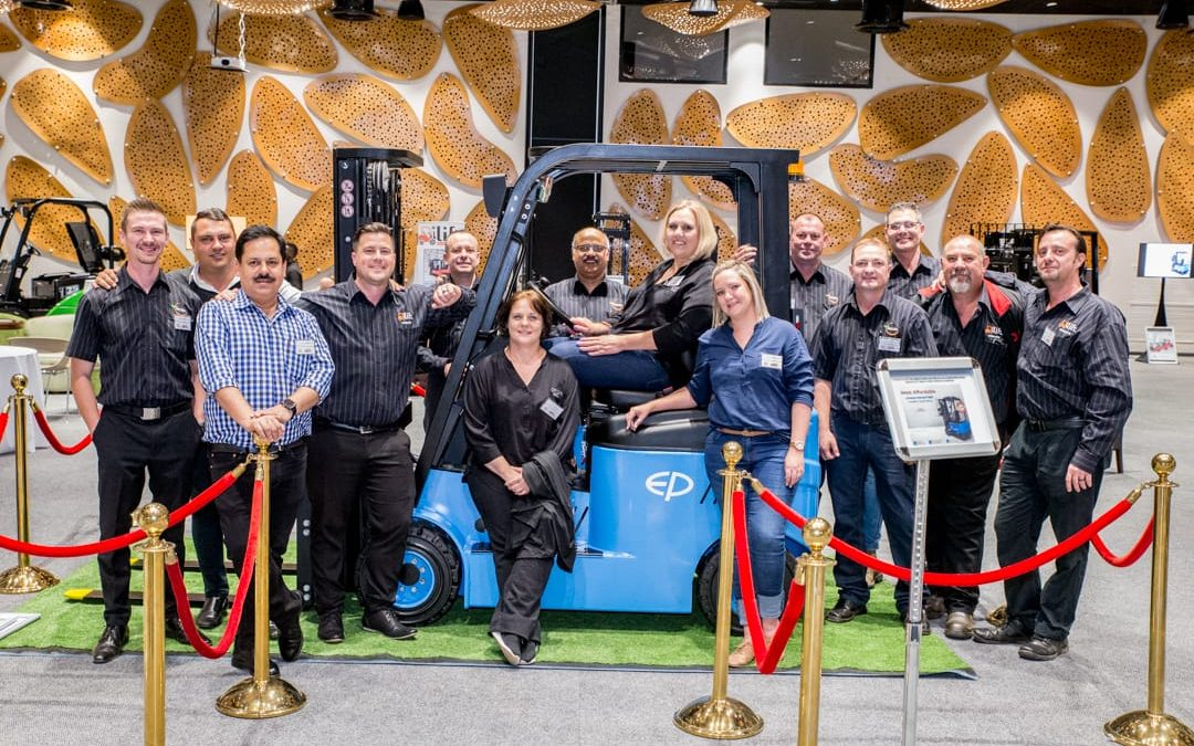 South African Distributor launching the EP Equipment Range