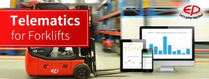Telematics for Forklifts - EP Equipment