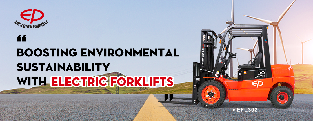 Boosting environmental sustainability with electric forklifts