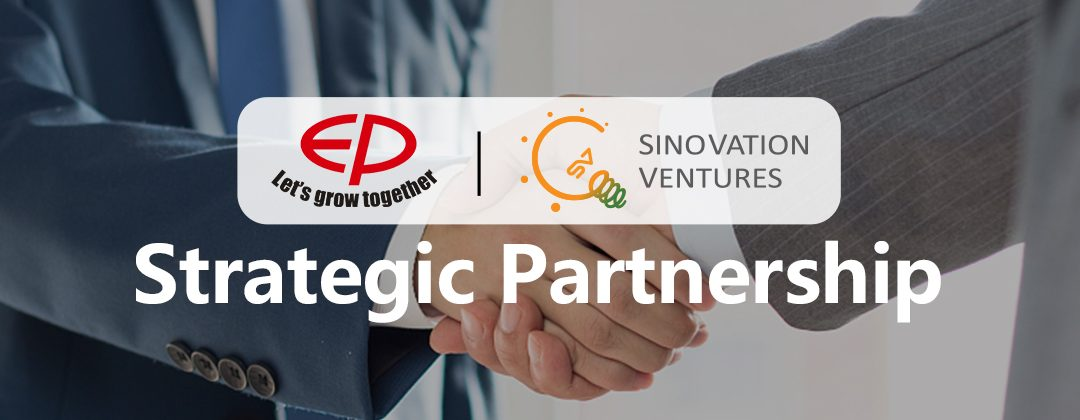 EP Equipment Announced Strategic Investment by Sinovation Ventures