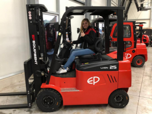 New Sales Assistant Germany - Inez Gruczel joining EP Equipment