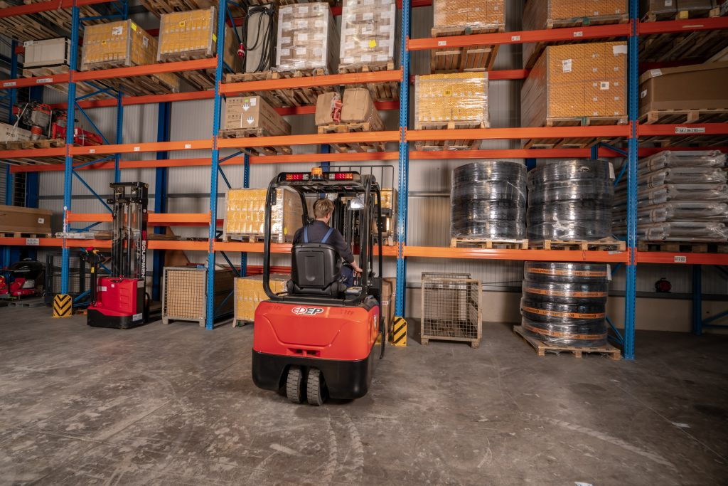 CPD18/20TV8 3-Wheel Electric Forklift