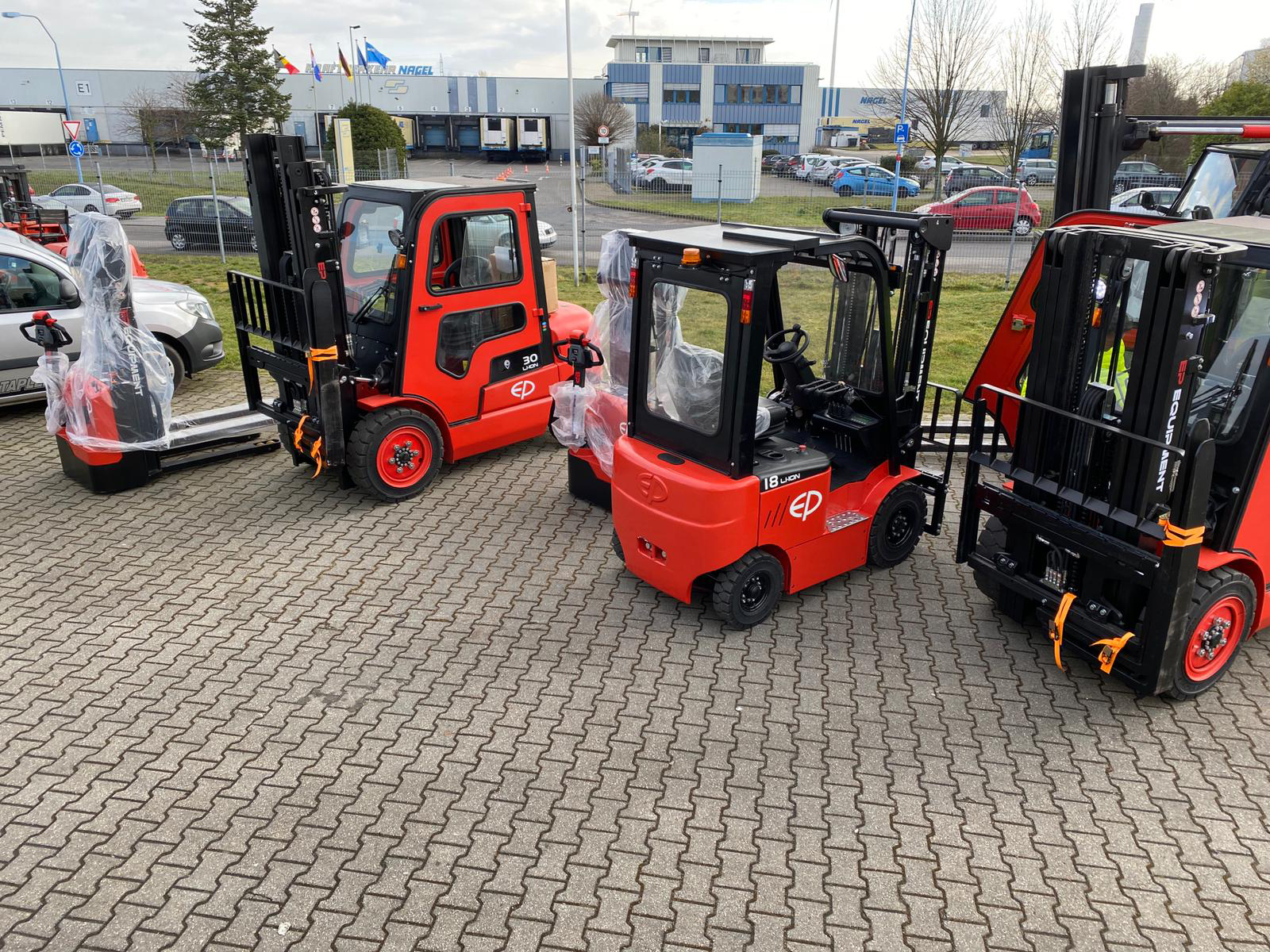 CPD15/20/30/35L1(S) Electric Forklift
