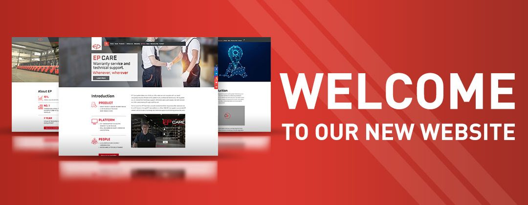 EP Equipment launches stunning new website