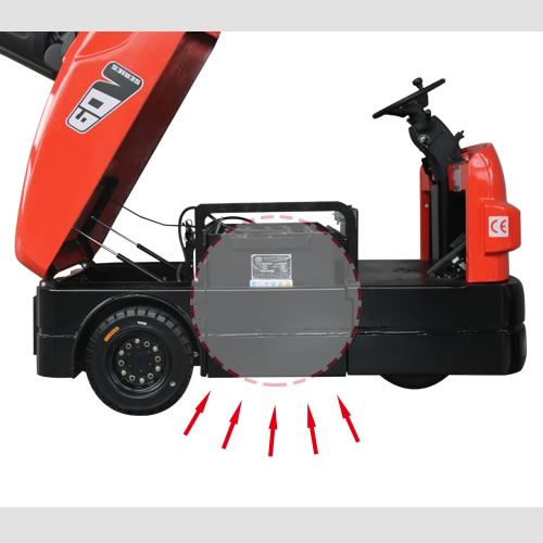 QDD30-60 Tow Tractor EP Equipment