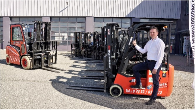Arbeitsbühnen Seeger and their rental customers profit from EP Equipment: 'Purely positive and enthusiastic'