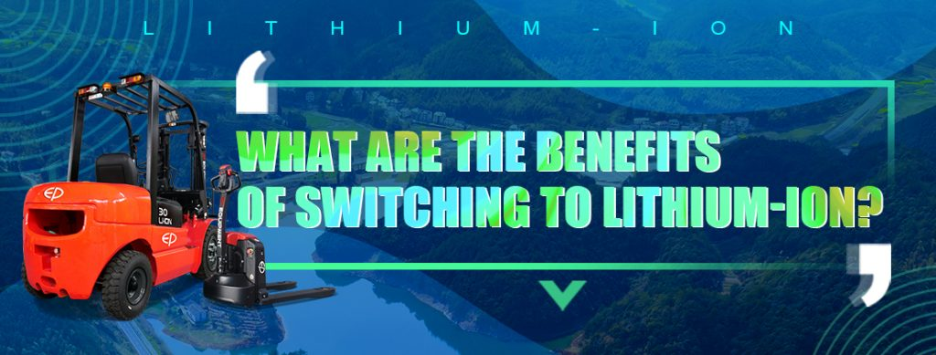 What are the benefits of switching to lithium-ion?