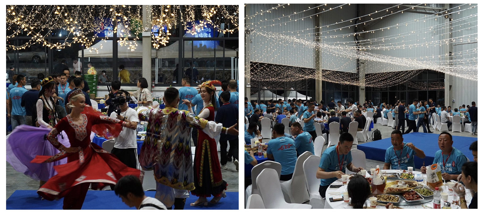 Entertainment and dinner at EP's annual 629 event