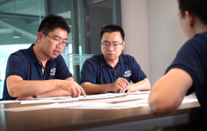 EP Electric Forklift Chief Engineer- Lee Yang: Practice makes perfect.